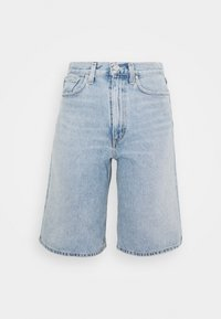 LENNOX CULOTTE - Short en jean - blue wave
