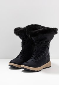 Columbia - SLOPESIDE VILLAGE OMNI-HEAT - Śniegowce - extreme midnight/cyber purple - 2