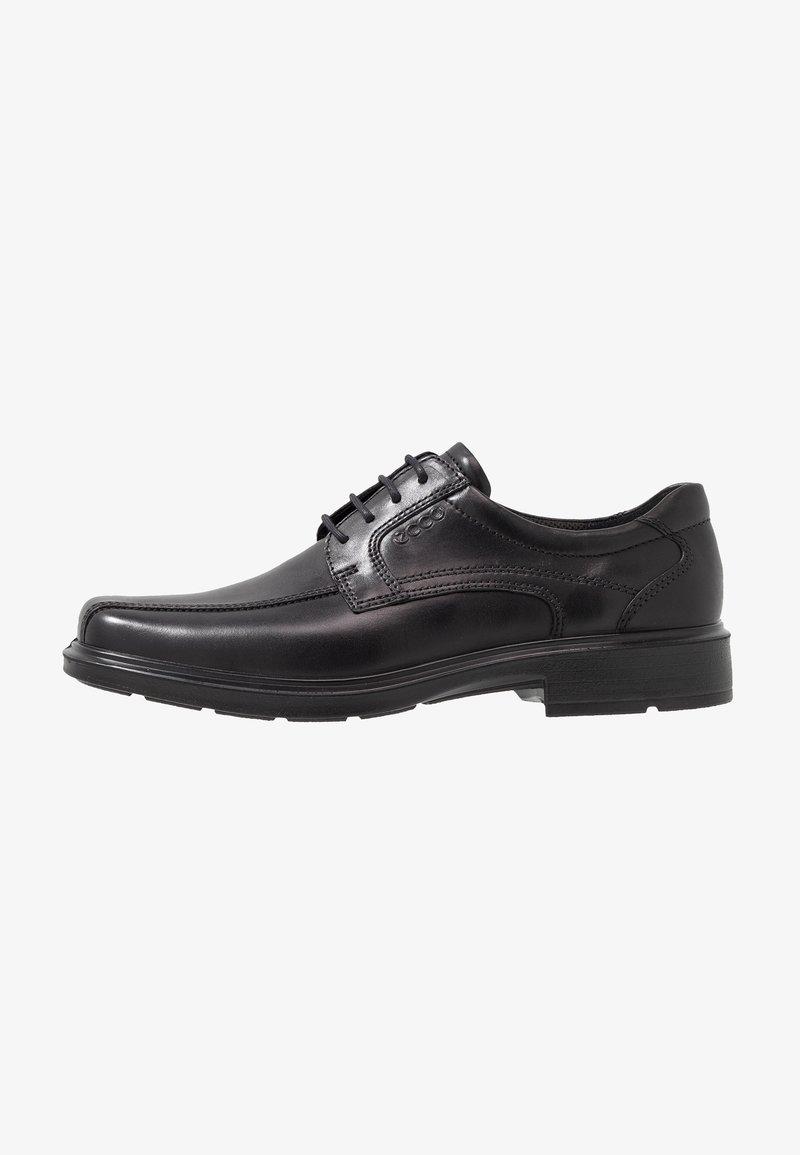 ECCO - Elegantní šněrovací boty - black