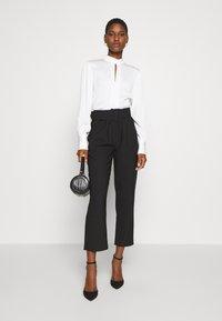 Trendyol - Spodnie materiałowe - black - 1