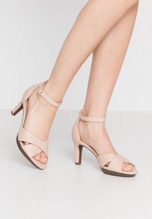 ADRIEL COVE - High heeled sandals - blush