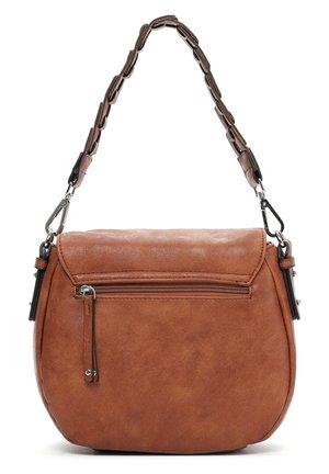 LUZY - Handbag - cognac 700