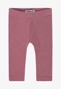 Noppies - CROSSETT - Leggings - Trousers - mauvewood - 0