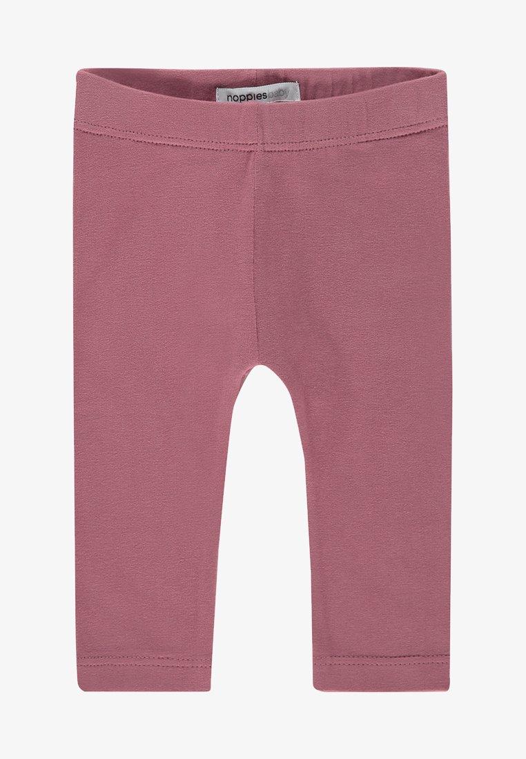 Noppies - CROSSETT - Leggings - Trousers - mauvewood