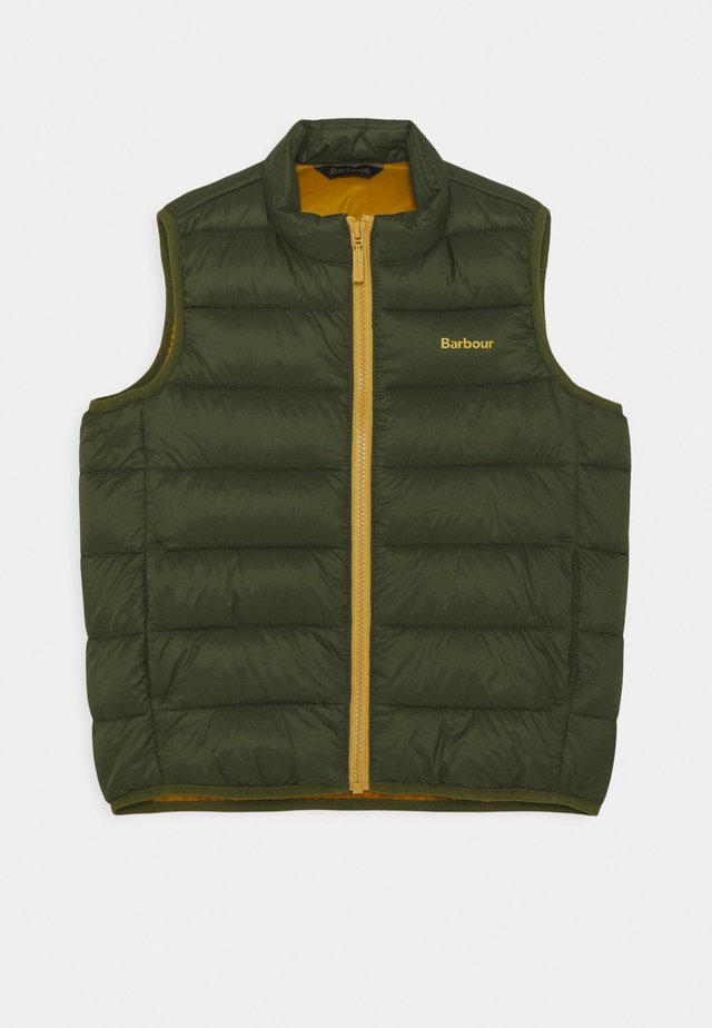BOYS TRAWL GILET - Weste - navy/orange