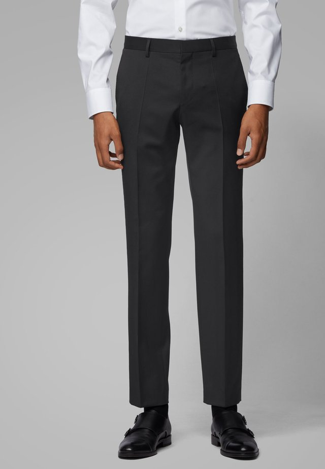 GENIUS5 - Suit trousers - black