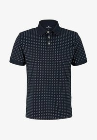 TOM TAILOR - Polo shirt - navy white minimal design - 4