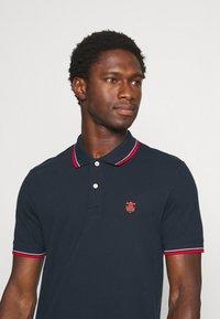 Selected Homme - SLHNEWSEASON 2 PACK - Polo shirt - navy blazer/port roayle - 4