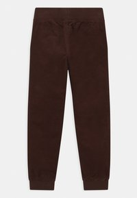Lindex - MINI CONNY - Trousers - dark brown - 1