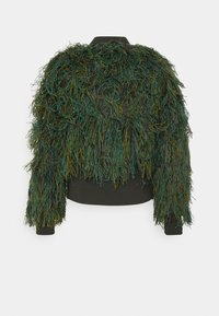 G-Star - GILLIE - Bomberjacks - green camo fringe - 7