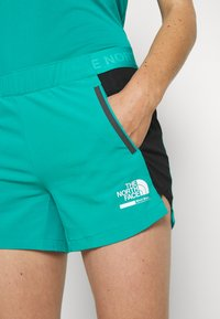 The North Face - WOMENS GLACIER - Outdoor Shorts - jaiden green - 4
