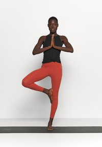 Nike Performance - THE YOGA LUXE 7/8 - Collant - rugged orange/light sienna - 1