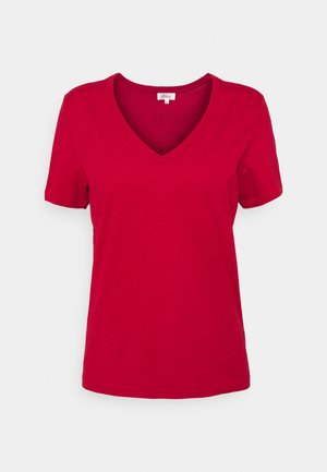 KURZARM - Jednoduché triko - true red