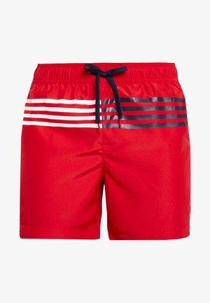 MEDIUM DRAWSTRING - Swimming shorts - tango red