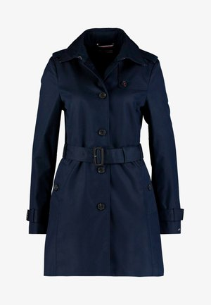 HERITAGE SINGLE BREASTED - Trench - midnight