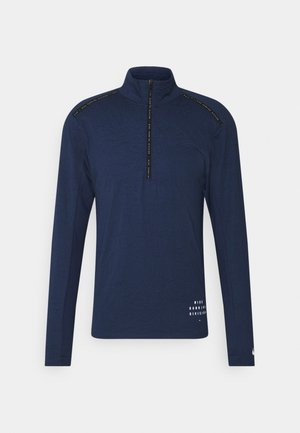ELEMENT - Sports shirt - midnight navy/black/silver
