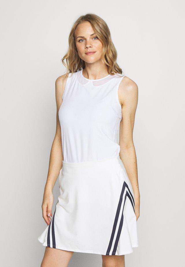 FLEX ACE - Koszulka sportowa - white