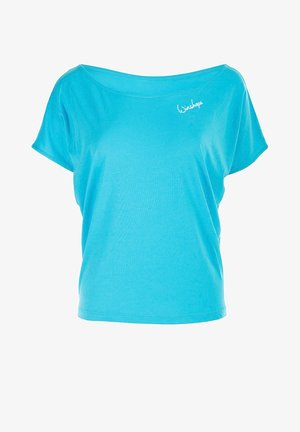 MCT002 ULTRA LIGHT - Print T-shirt - sky blue