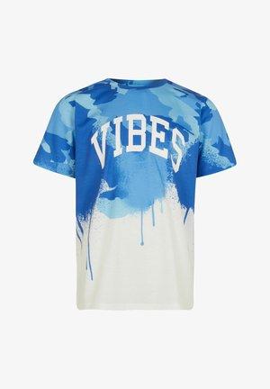 VIBES - Print T-shirt - blue