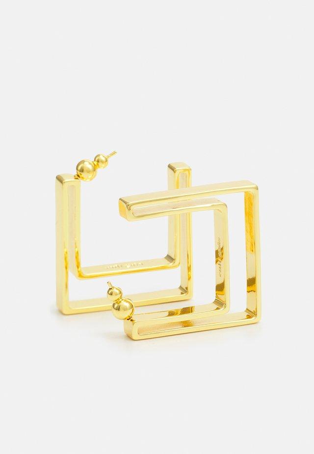 ABIE EARRING - Earrings - gold-coloured metallic