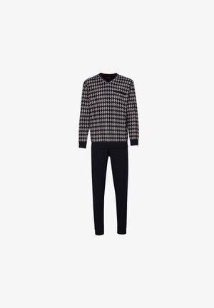 Pyjamas - grau/schwarz