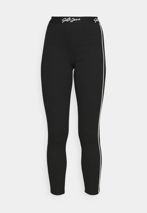 SEXY LINES PANTS - Leggings - black