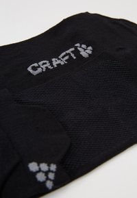 Craft - GREATNESS SHAFTLESS 3 PACK - Sportsocken - black - 2