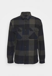 Selected Homme - SLHLOOSEREED CHECK - Shirt - black - 0