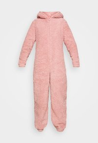 Loungeable - PINK TEDDY SHERPA ONESIE - Jumpsuit - pink - 4