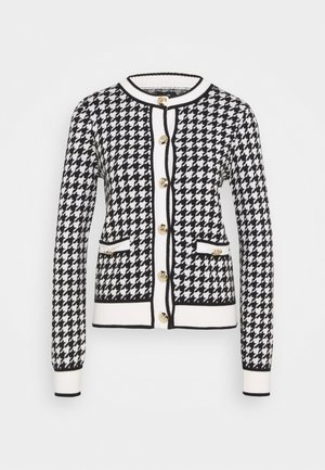 DOGTOOTH - Cardigan - black