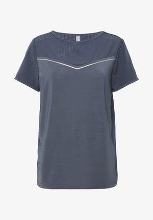 Camiseta estampada - turbulence/white gold