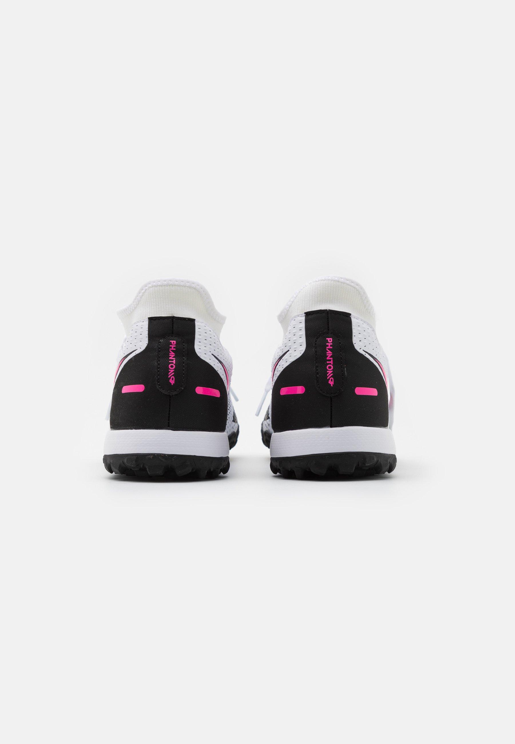 Nike Performance PHANTOM GT ACADEMY DF TF - Scarpe da calcetto con tacchetti - white/pink blast/black - Scarpe da uomo Nuovo stile