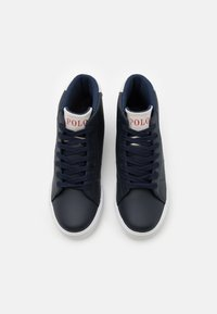 Polo Ralph Lauren - THERON III MID - High-top trainers - navy/light grey/white - 3