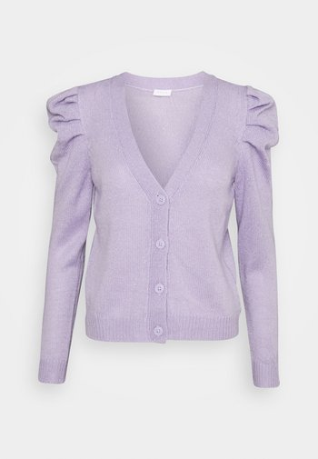 VIMARIE V NECK PUFF - Cardigan - lavender