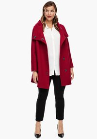Triangle - Short coat - dark red - 1