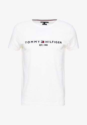 LOGO TEE - T-shirt imprimé - white