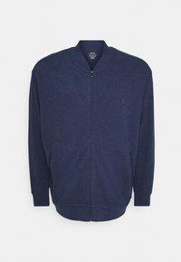 Polo Ralph Lauren Big & Tall - LONG SLEEVE FULL ZIP - Zip-up sweatshirt - spring navy heather - 0