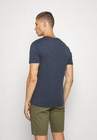 Pier One - Basic T-shirt - dark blue - 2