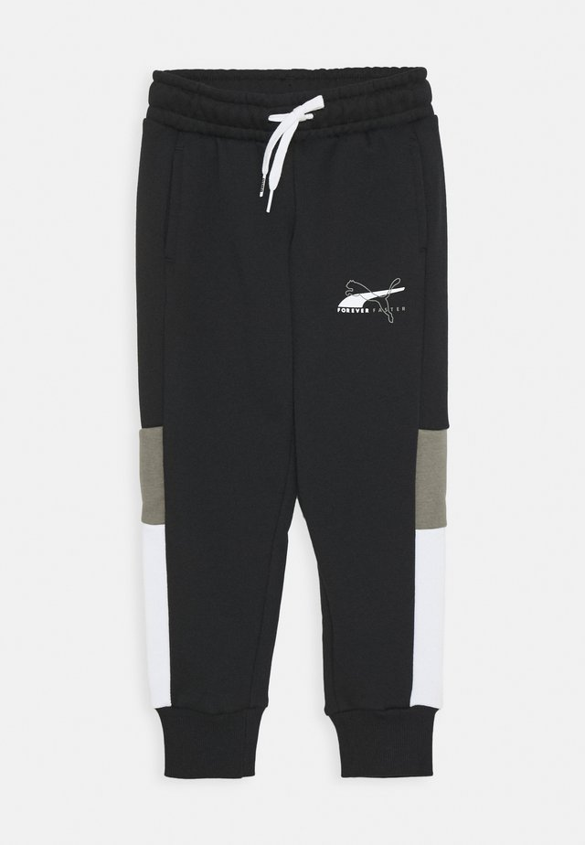ALPHA SWEATPANTS - Pantalon de survêtement - black