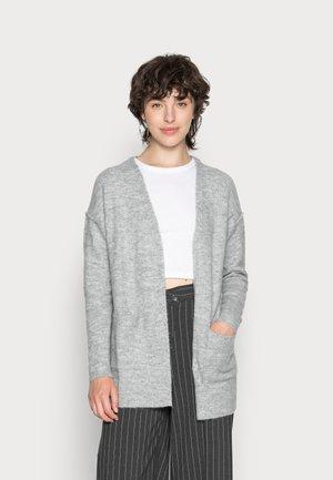 VMLUCI OPEN CARDIGAN  - Cardigan - light grey melange