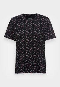 Esprit - T-shirt imprimé - black - 3