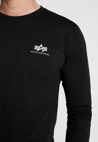 Alpha Industries - 198517 - Long sleeved top - black - 5