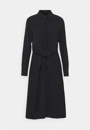 KAHWELL LONG SLEEVE CASUAL DRESS - Day dress - polo black