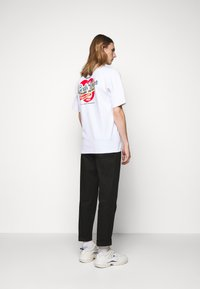 GCDS - SANFORIZED TEE - Print T-shirt - white/red - 2