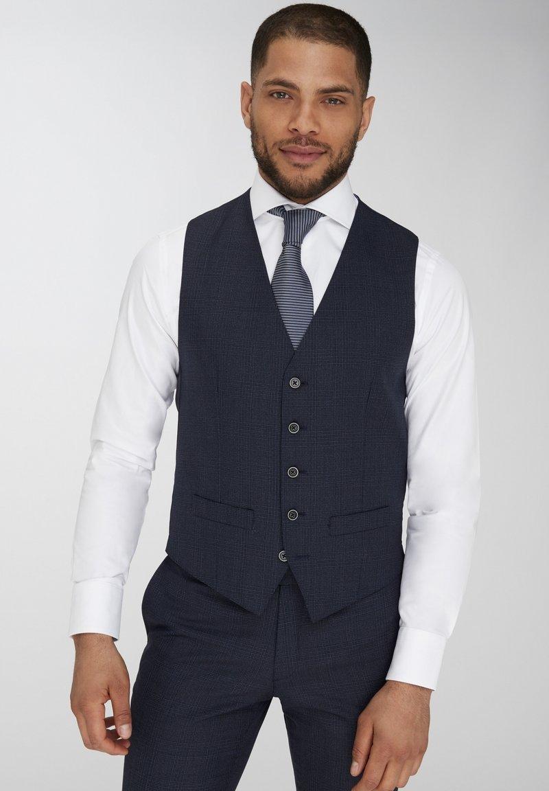 Van Gils - Suit waistcoat - dark blue