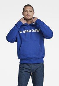 G-Star - UNISEX EMBRO HDD SW - Sweatshirt - bhashor sweat r -blue - 2