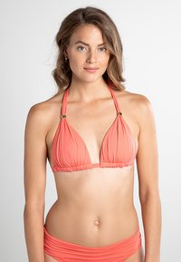 Lauren Ralph Lauren - BCS MOLD CUP SLIDER - Bikini top - coral reef - 0