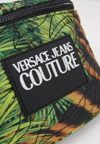 Versace Jeans Couture - JUNGLE PRINT BELT BAG - Bum bag - multicoloured - 5
