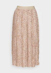 Rich & Royal - SKIRT PLISSEE - Pleated skirt - beige - 3