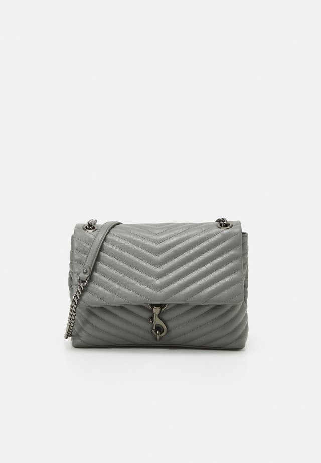 EDIE FLAP SHOULDER - Handtasche - steel